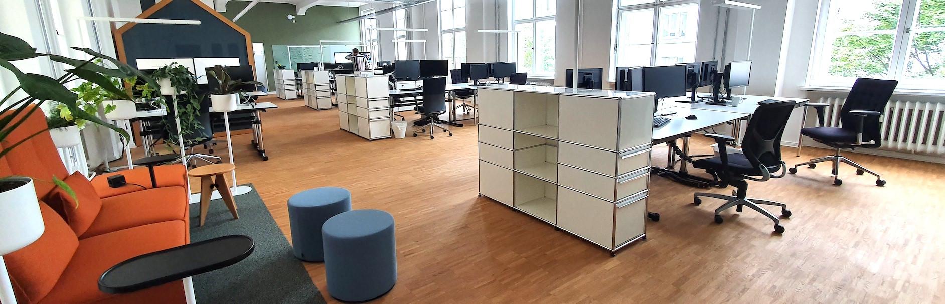 Kaliwerk Arbeitsplätze im shared Office