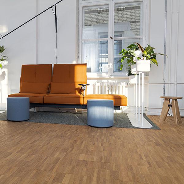 Kaliwerk Lounge-Sofa in Orange