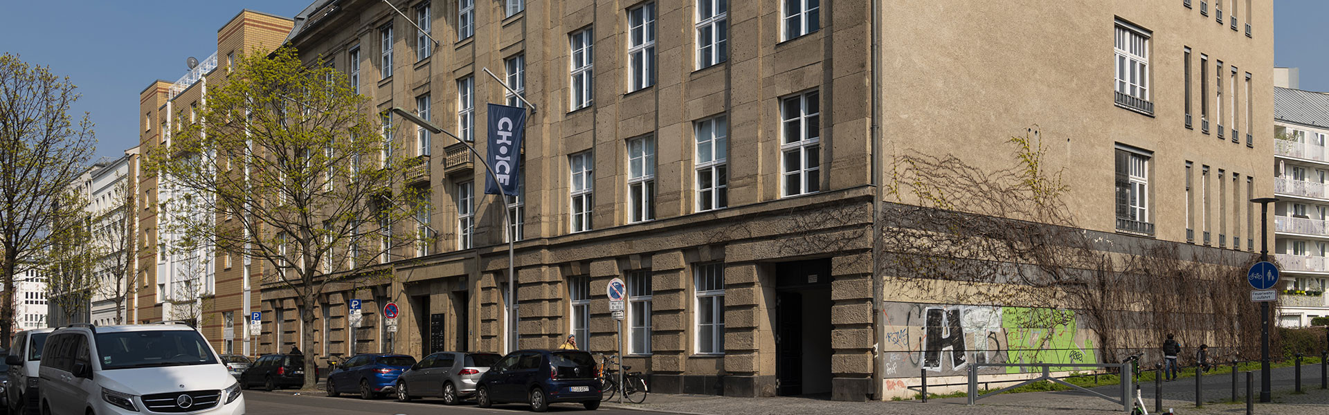 Kaliwerk Gebäude in Berlin, Straßenansicht